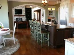 Kitchen Islands With Stools Pictures