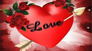 Love Heart - Red Rose Love Heart ...