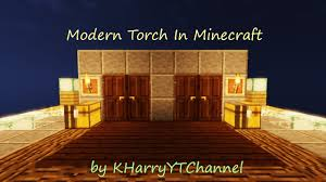 aesthetic lighting minecraft indoors torches tutorial. Modern Torch In Minecraft!(Minecraft Tutorial)[TH] Aesthetic Lighting Minecraft Indoors Torches Tutorial
