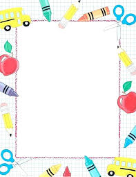 Stationery Border Template
