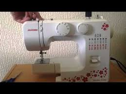 How To Thread Sewing Machine Janome