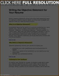 Objective In Resume Nurse Resume Work Template