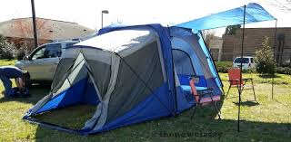 Vehicle Camping With The Sportz SUV Tent Model 84000 | Napier Outdoors