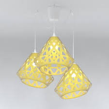 chandelier zaha light royalty free 3d model preview no 1