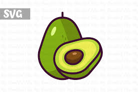 Download free icons in png, svg, eps, ai, and others. Avocado Illustration Icon Graphic By Mybeautifulfiles Creative Fabrica