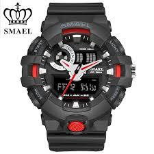 compare prices on mens watch black metal online shopping buy low smael mens watches top brand luxury led digital fashion digital men s watch hot clock erkek saat