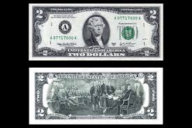 how much is a two dollar bill worth
