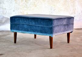 select modern mid century modern ottoman foot stool or small bench