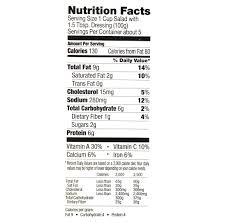 Walmart Deli Nutrition Chart Marketside Southwest Salad 17 25 Oz Walmart Com