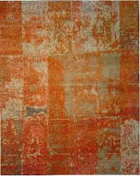 a new design in stark studio rugs castlewall collection is hand knotted in india of 80 percent wool 20 percent silk and 10 percent linen