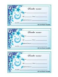 Personalised Gift Vouchers Templates Wording For A Gift Certificate Gift Certificate Voucher