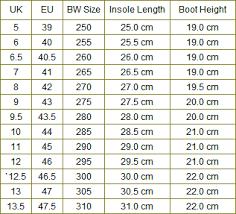 German Army Jacket Size Chart Boots Sizes Fashion Dresses