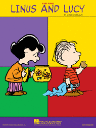 Linus And Lucy Easy Piano By Vince Guaraldi Single Sheet