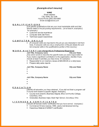 Skills List Resume