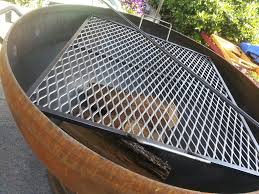 14 fire pit cooking grates large the rockwood fire pit with a pertaining to outdoor fireplace