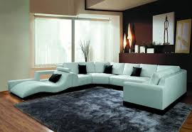 Mid Century Modern Leather Sectional The Holland Choose Your
