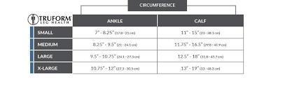 Compression Socks Sizes Chart Truform Sheer Compression Stockings 15 20 Mmhg Womens Knee High Length Open Toe 20 Denier Light Beige Medium