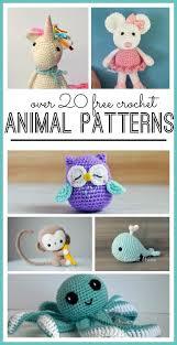 Crochet Animal Patterns Simple 48 Stuffed Animal Crochet Ideas Crochet Knitting Ideas