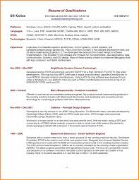 Qualification In Resume Crisis Intervention Worker Sample Resume