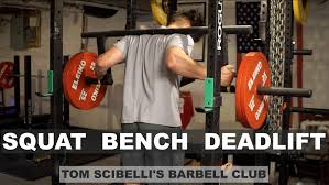 Awesome Deadlift Squat Bench Workout Part  3 Squat Bench Squat Bench Deadlift Overhead Press