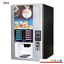 Hot And Cold Coffee Vending Machine Price New Automatic Coffee Machine Commercial Coin Coffee Tea Machine Hot And