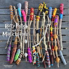 harry potter week diy magic wands