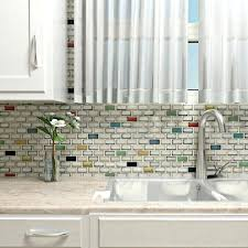 colored subway tile subway tile cream colored beveled subway tile