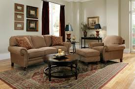Two Piece Living Room Set Broyhill Furniture Larissa Collection Featuring Upholstered Sofa