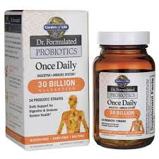 garden of lifedr formulated probiotics once daily