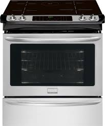 frigidaire gallery series fgis3065pf frigidaire gallery 30 slide in induction range
