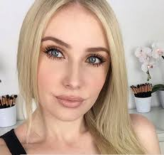 eye makeup for blue green eyes and blonde hair