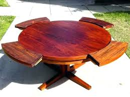 expandable round dining room table expanding round dining table phenomenal expanding round dining room table ideas