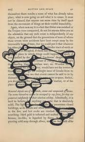 book page poetry visual poetry for when you are repurposing an old book into your visual journal