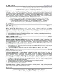 Junior Project Manager Resume Best Management Resume Templates