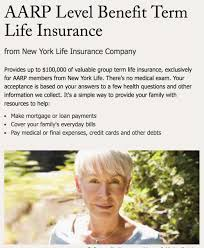 aarp life insurance review term