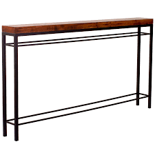 iron console table. Iron Console Table That Measures 70. Larger Photo