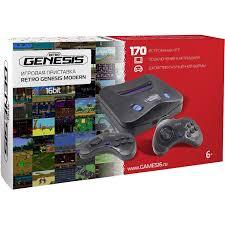 Купить <b>игровую приставку SEGA Retro</b> Genesis Modern + 170 игр ...
