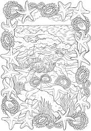 Coloring Pages For Adults Ocean Ocean Waves Coloring Pages 9 The