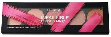 loreal infallible ambers blush paint kit