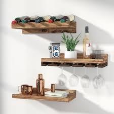 wine bottle storage furniture. Dunlap 5 Bottle Wall Mounted 3 Piece Wine Rack Storage Furniture T
