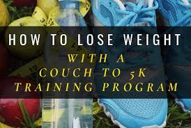 how to lose weight with a couch to 5k