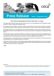 Ceca Press Release Ceca Mac Recommendations Will Drive Brain