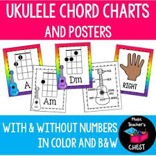 Chord Charts For Kids Ukulele Chord Charts And Posters