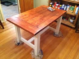 How To Build A Farmhouse Table With Regard Diy Kitchen Decor