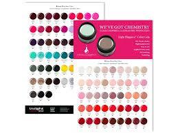 Color Chart Light Elegance Color Gel Insight Cosmetics Group