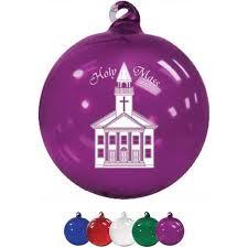 3 hand blown glass ornament