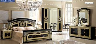bedroom furniture makeover image19. Italian Bedroom Sets Furniture. Esf Aida Set In Black \\u0026 Gold Furniture Makeover Image19