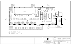 Kitchen Floor Plans Designs Restaurant Floor Plan