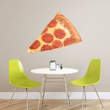 Pizza Giant Food Removable Wall Decal