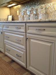 Colonial Gold Granite Kitchen Built In Bar Savannah Maple Rubbed Taupe Cabinets With Colonial
